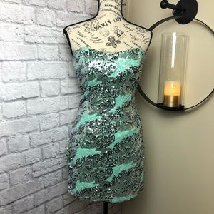 Strapless Party Dress🎉